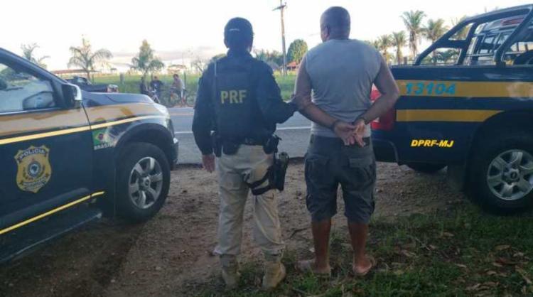 Motorista tentou fugir de fiscalização no Km 62 da rodovia - Foto: Divulgação | PRF-BA