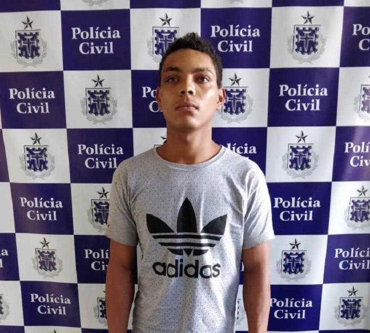 Segundo a polícia, Jheison Eduardo também agrediu a mãe da vítima, de 83 anos - Foto: Divulgação | PC-BA