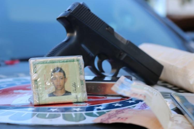 Gean Barbosa Cardoso, conhecido como 'Canário', possuia mandado de prisão pelos crimes - Foto: Divulgação | SSP-BA