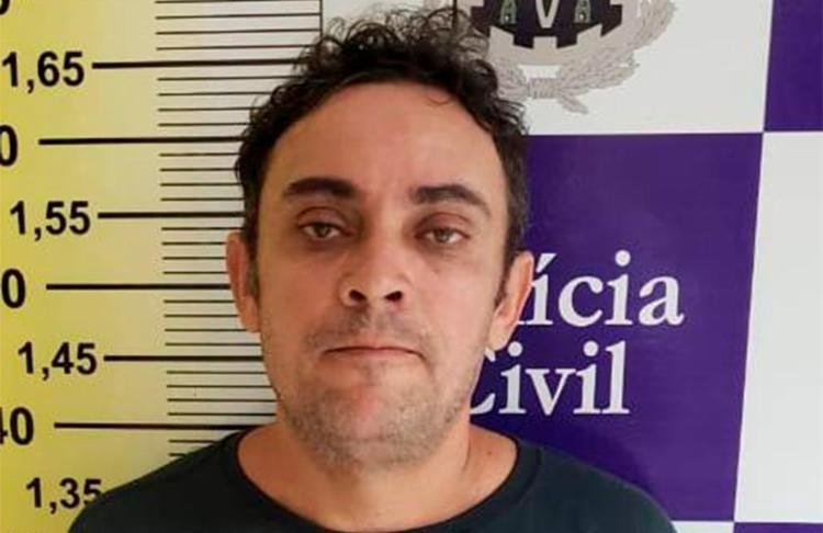 Carlos Bonfim foi detido em um bar, menos de 48 horas depois do assassinato - Foto: Divulgação   Polícia Civil