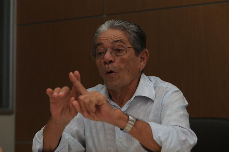 Raimundo Viana, candidato à presidência do Vitória - Foto: Joá Souza l Ag. A TARDE