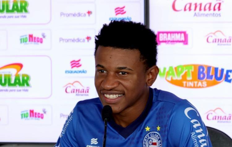 Meia é um dos principais destaque do Esquadrão na temporada - Foto: Felipe Oliveira | EC Bahia