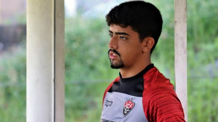Atleta foi recém-promovido ao elenco principal do Vitória - Foto: Maurícia da Matta   EC Vitória