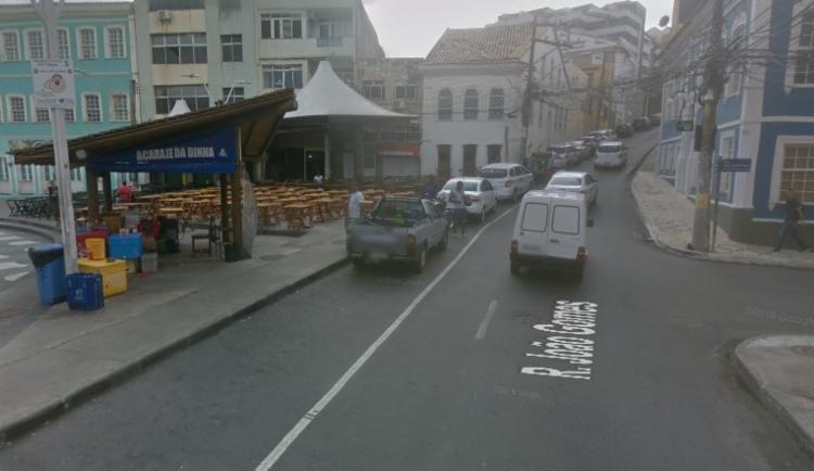 O fluxo está intenso no Largo Santana - Foto: Google Maps   Reprodução