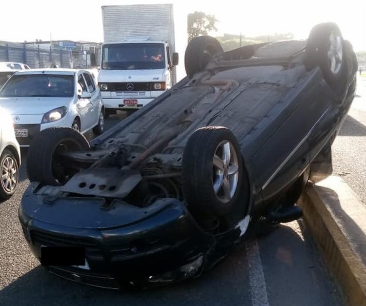 Igor França Ramos tentou fugir, acelerando o veículo, mas foi alcançado após perder o controle do automóvel - Foto: Divulgação   SSP-BA