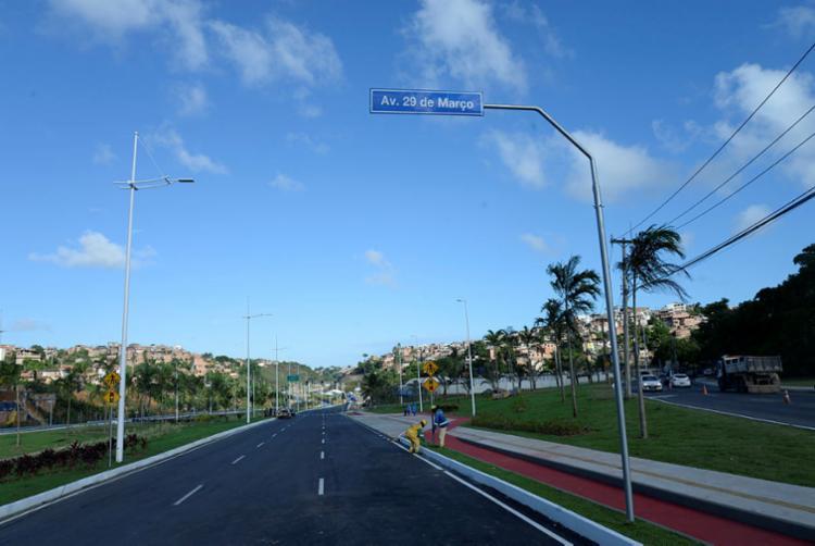 Avenida promete ligar a BR 324 à Orlando Gomes em 15 minutos - Foto: Matheus Buranelli   Ag. A TARDE