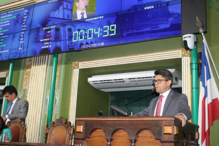 O anúncio foi feito pelo secretário de Comunicação da Câmara, vereador Luiz Carlos - Foto: Divulgação
