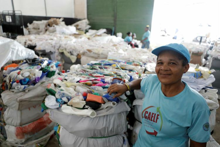 Nivalda Santos é atual presidente da cooperativa Caelf
