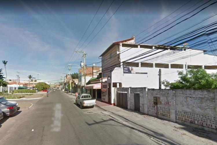 A área foi isolada e os militares acionaram o Silc - Foto: Reprodução | Google Street View