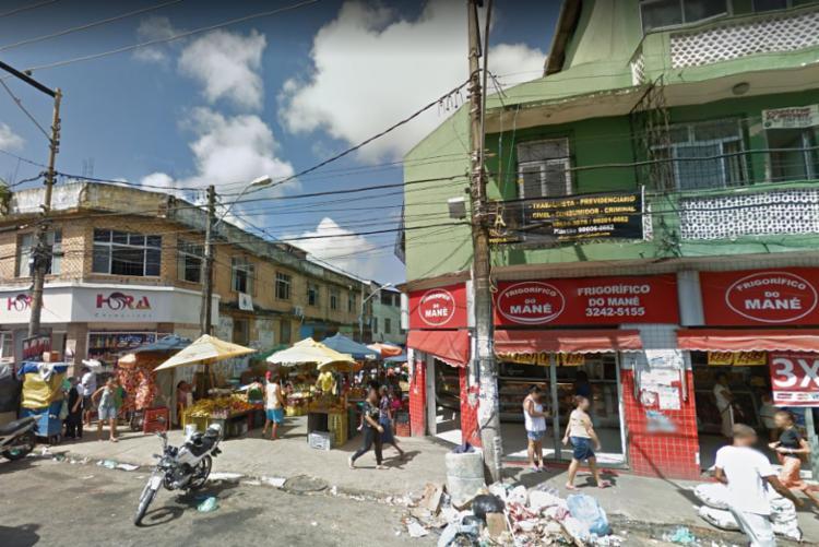Crime ocorreu na rua Gaspar de Lemos, próximo da feira do Japão - Foto: Reprodução | Google Street View