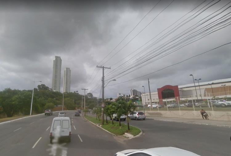 Trânsito não foi afetado - Foto: Reprodução | Google Street View