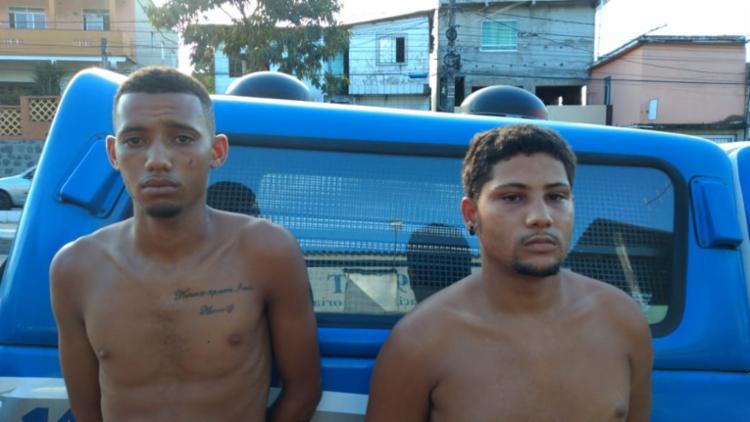 Dupla fugiu após confronto com a polícia nesta terça - Foto: Divulgação | SSP-BA