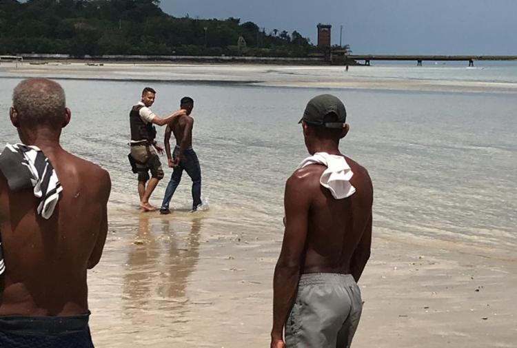 Suspeitos foram autuados por roubo - Foto: Divulgação | SSP-BA
