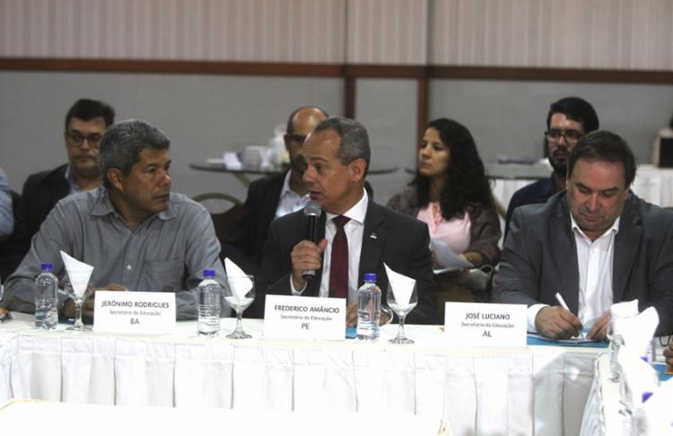 O secretário baiano Jerônimo Rodrigues foi o anfitrião do evento - Foto: Divulgação