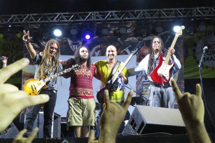 O show une música ao vivo e exibição de animação para contar a história da primeira civilização humana conhecida - Foto: Divulgação