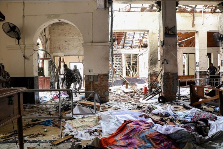 Ataques deixaram mais de 200 mortos neste domingo de Páscoa - Foto: Ishara S. Kodikara | AFP