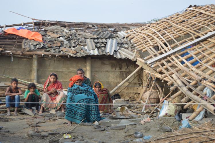 O chefe de polícia afirmou que o balanço da catástrofe pode aumentar - Foto: Diwakar Bhandari   AFP