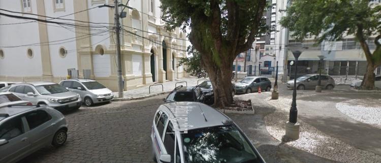 Foram realizadas rondas e ao visualizar a viatura, o suspeito tentou fugir - Foto: Google Maps   Reprodução
