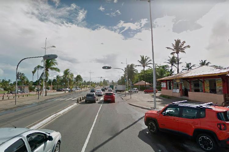 Três pontos da avenida Octávio Magabeira passam por alterações - Foto: Reprodução   Google Street View