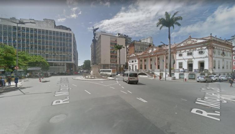 As alterações estão previstas para durar cerca de 60 dias - Foto: Reprodução | Google Street View
