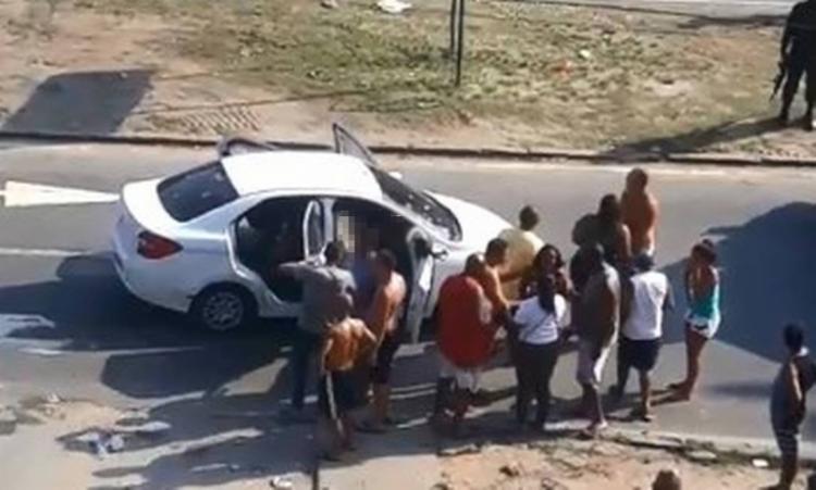 Macedo foi internado em estado grave no Hospital Estadual Carlos Chagas - Foto: Reprodução