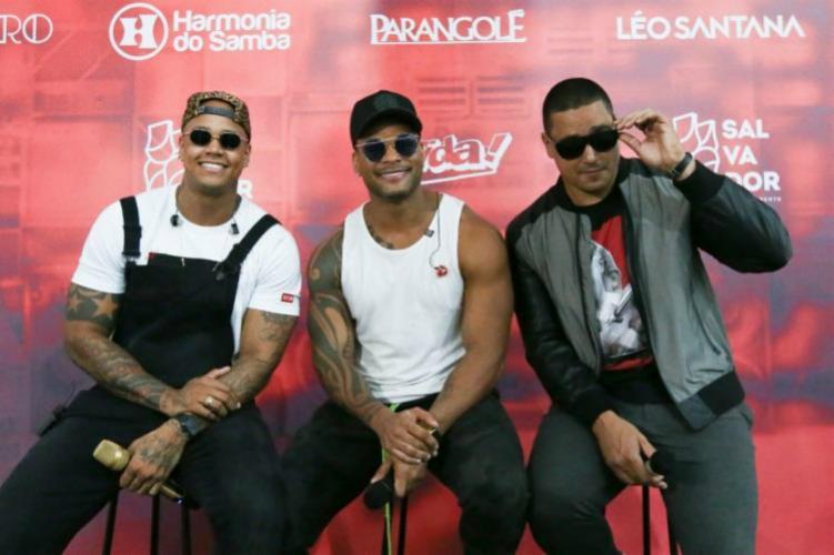 Léo Santana, Tony Salles e Xanddy tiram projeto do papel e anunciam surpresas para mega show - Divulgação | Mateus Ross