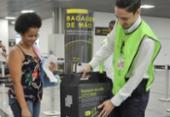Aeroportos de Salvador e Guarulhos começam nesta quinta a fiscalizar bagagens | Foto: