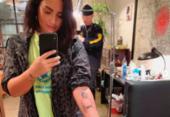 Demi Lovato homenageia bisavó com nova tatuagem de braço | Foto: Reprodução | Instagram