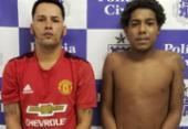Dupla é presa suspeita de tráfico de drogas em Itaparica | Foto: Divulgação | Polícia Civil