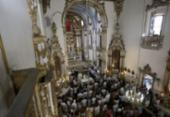 Interior do Santuário Senhor do Bonfim é entregue após reforma | Foto: Joá Souza l Ag. A TARDE