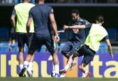 Com Neymar, Tite fecha primeiro treino da seleção brasileira em Teresópolis | Foto: Lucas Figueiredo l CBF