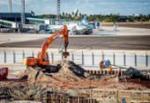 Obra do Aeroporto Internacional de Salvador será concluída em outubro | Foto: Will Recarey | Divulgação