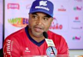 Roger defende Ramires e mostra confiança na evolução do meia | Foto: Felipe Oliveira l EC Bahia