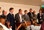Rui Costa confirma investimento de R$ 2,5 bilhões nos terminais do Porto Sul | Foto: Roberto Aguiar | Ag. A TARDE