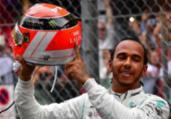 Hamilton segura Verstappen e fatura o GP de Mônaco | Andrej Isakovic l AFP