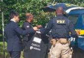 Servidor da Câmara de Ilhéus é preso em ação do MP-BA | Divulgação | PRF