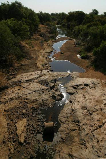 Riacho do Navio, em Pernambuco: cada dia mais, menos - Foto: Xando Pereira | Ag. A TARDE