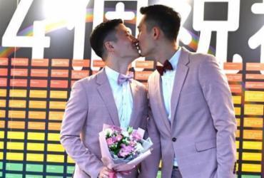 Taiwan tem primeiros casamentos gays da Ásia  