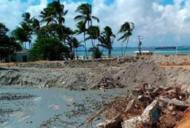 Obras no canal de navegação do terminal em Vera Cruz estão 30% concluídas | Divulgação | Seinfra