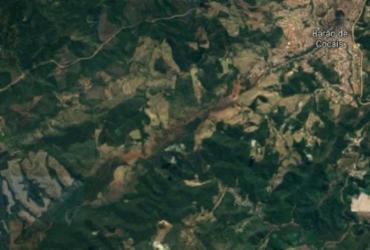 Talude de mina em Barão de Cocais tem deslocamento diário de até 18 cm, diz ANM | Reprodução | Google Maps