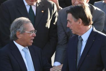 Ninguém é obrigado a ficar como ministro, diz Bolsonaro sobre fala de Guedes | Evaristo Sá l AFP