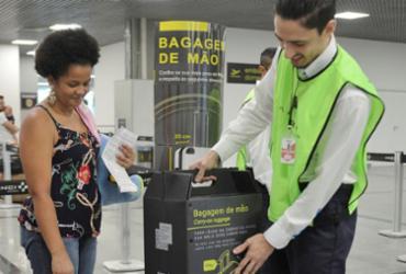 Aeroportos de Salvador e Guarulhos começam a fiscalizar bagagens | Shirley Stolze | Ag. A TARDE
