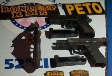 Trio suspeito de chacina em Lauro de Freitas morre após confronto com a polícia | Divulgação | SSP-BA