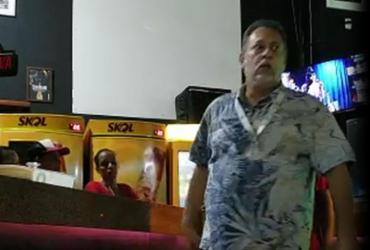 Homem é acusado de agredir e ameaçar gerente de restaurante em Salvador | Reprodução l YouTube