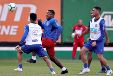 Bahia encerra preparação para confronto com o São Paulo | Felipe Oliveira | EC Bahia