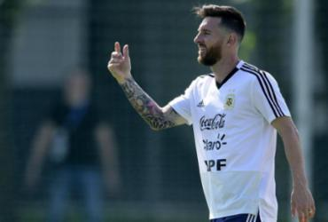 Argentina confirma Messi e Agüero na Copa América; Icardi e Kannemann ficam fora | Juan Mabromata | AFP