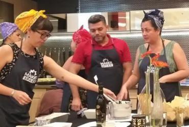 Oficina gastronômica com Kátia Najara é realizada nesta quarta-feira   Divulgação