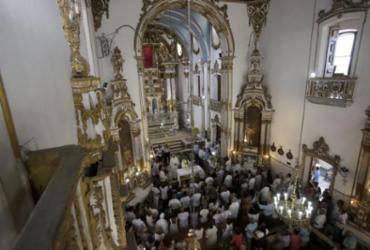 Interior do Santuário Senhor do Bonfim é entregue após reforma | Joá Souza l Ag. A TARDE
