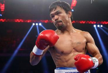 Aos 40 anos, Manny Pacquiao confirma luta contra o invicto Keith Thurman | AFP