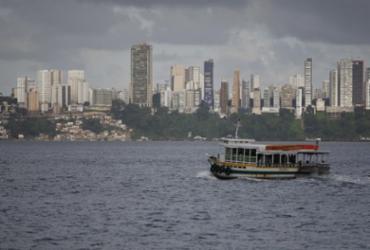 Marinha emite alerta de intensificação dos ventos no litoral de Salvador | Luciano Carcará | Ag. A TARDE